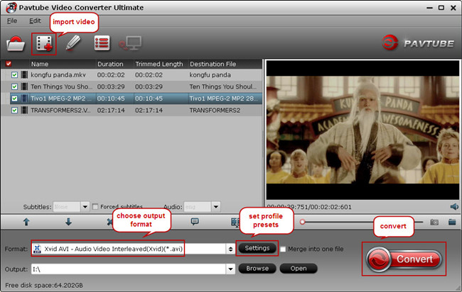 convert tv programs to sawstudio