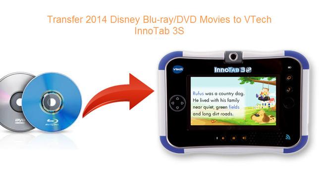 transfer 2014 disney movies to innotab 3s