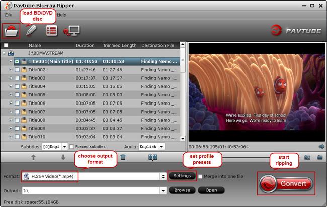 watch bluray dvd movies on innotab3s