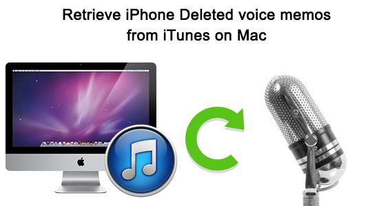retrieve iphone voice memos from itunes