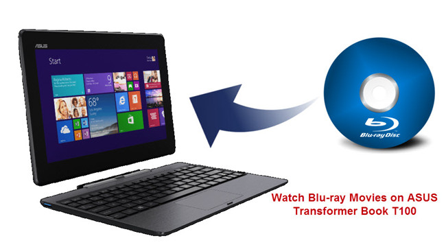 watch bluray on asus t100