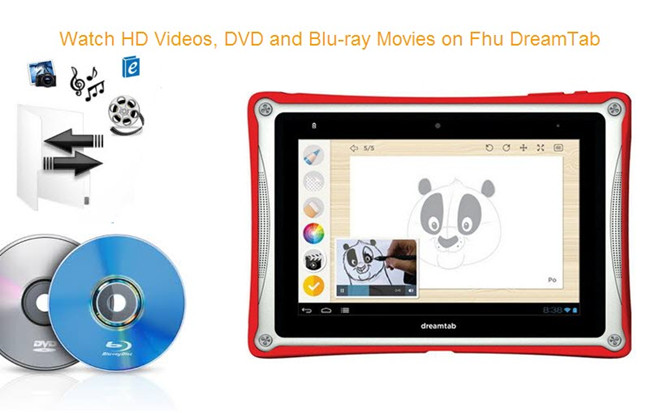 watch bd dvd videos on dreamtab