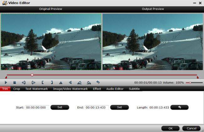 Get 4K XAVC S from Sony a7R II Work in Premiere Elements