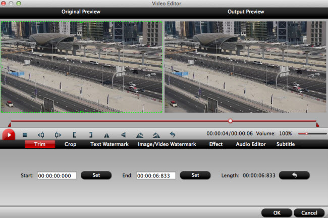 how to edit gh4 4k mp4 mov