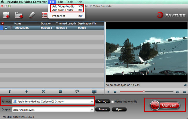 Pavtube HD Video Converter for Mac - An all-round Mac HD video converting