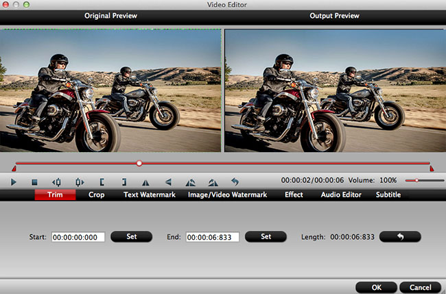 Convert contour mov to mpeg 2 for editing in imovie click the edit button to go to video editor window where you can edit contour mov files with functions like trim crop watermark special video effects ccuart Images