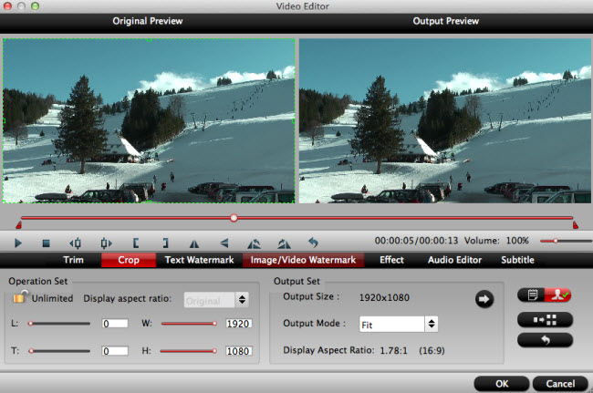how to edit 60p mts m2ts ts