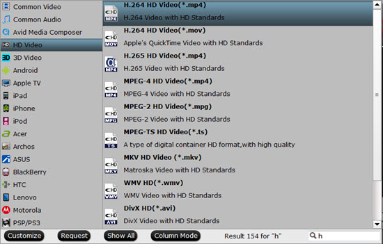 hd h.264 mp4 Tutorials to Transcode H.265 to H.264 for Playback