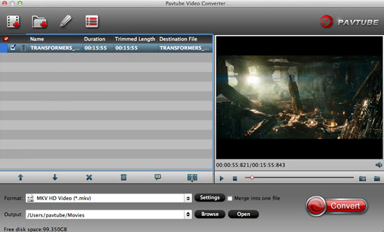 Import videos to the software