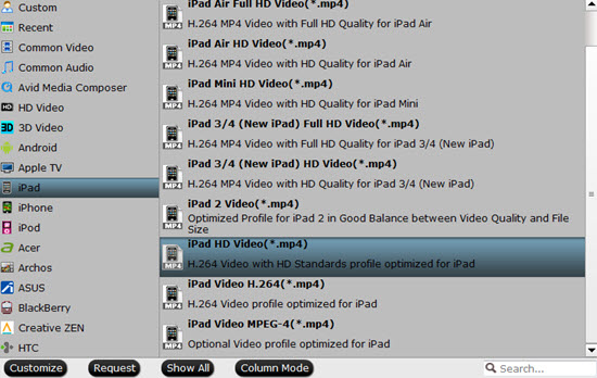 How to convert AVI, DivX, XviD to iPad with iPad Converter