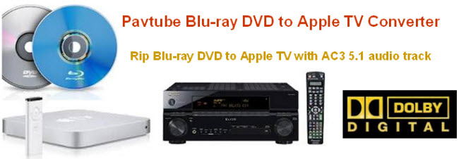 Blu-Ray to Apple TV Converter AC3 5.1 movies