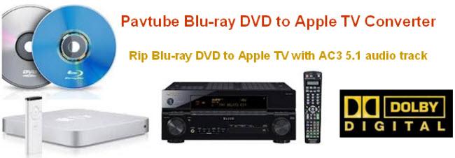 Blu-Ray to Apple TV Converter AC3 5.1 movies