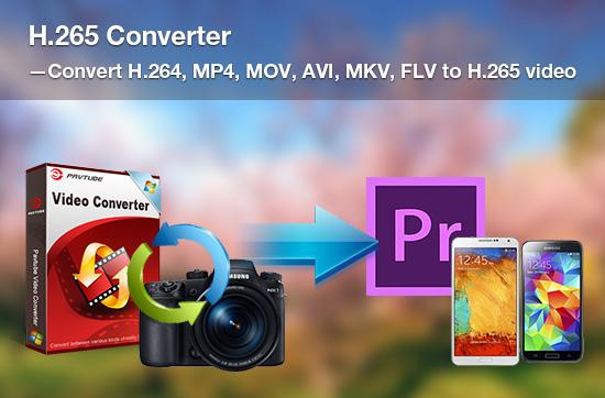 H.265 Converter - Convert H.264, MP4, MOV, AVI, MKV, FLV to H.265 video.jpg