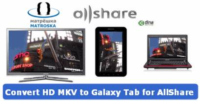 convert hd mkv to galaxy tab