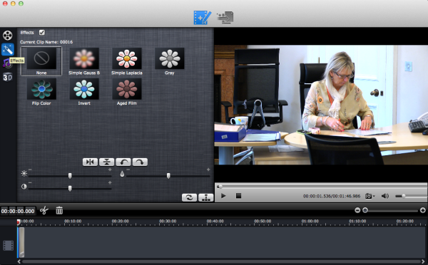 Media Magician editing interface