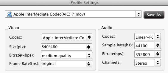 mxf converter settings aic Does Canon EOS 5D mark 3 1080p .mov Capable with iMovie?