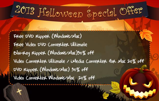 Pavtube Halloween Deal