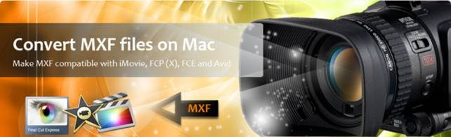 edit mxf on mac