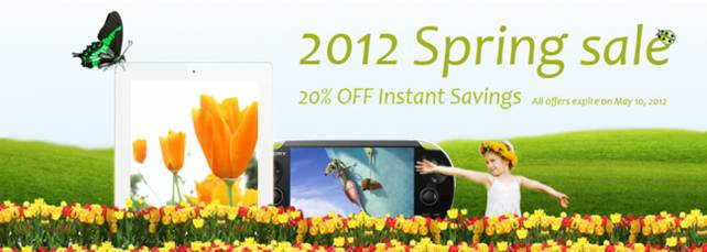 pavtube 20% off spring sale 
