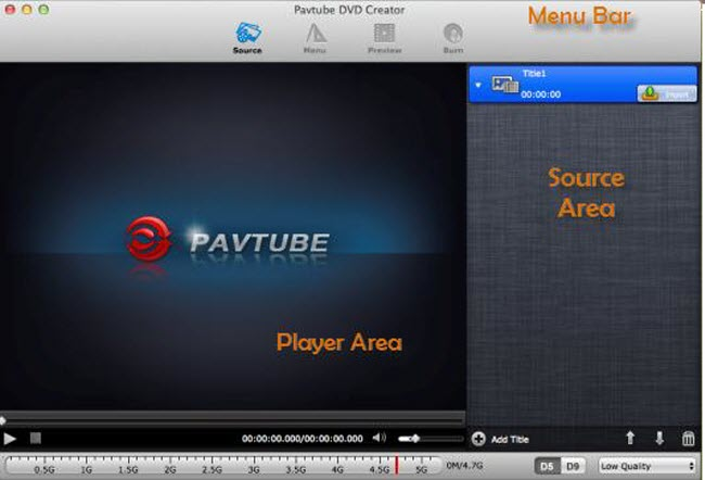 Pavtube Free DVD Creator for Mac