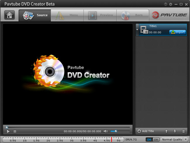 Pavtube DVD Creator Beta