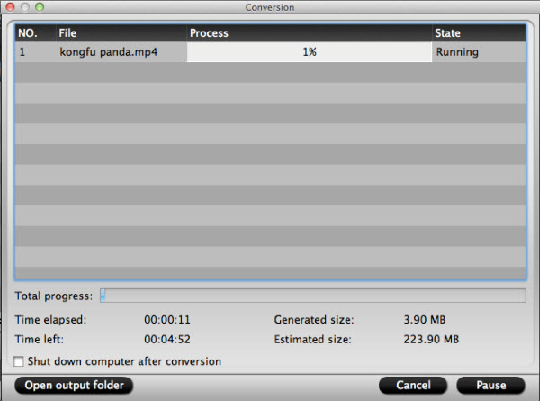 mkv converter for mac conversion interface