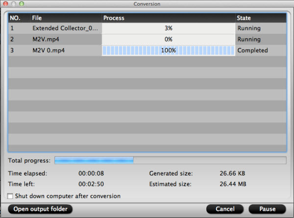 video converter for mac conversion interface