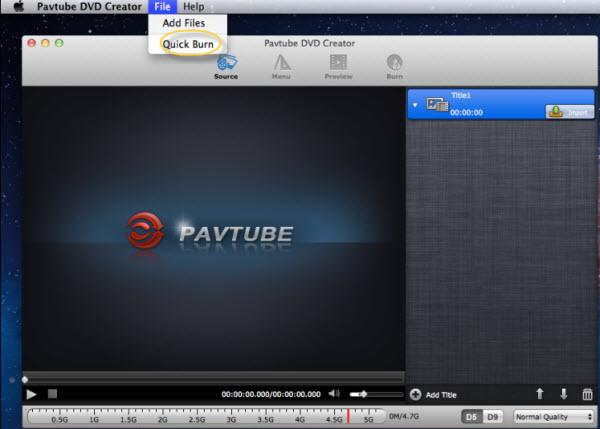 DVD Creator for Mac Online Help - Burn ISO to DVD