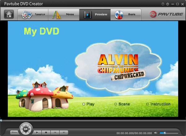 Customize DVD menu