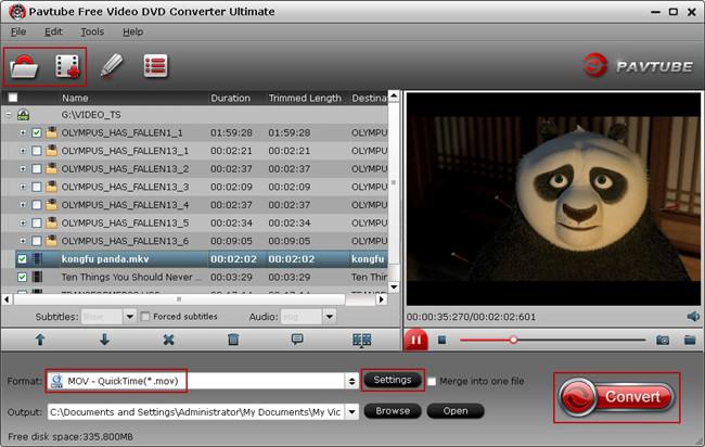Pavtube Free Video DVD Ultimate screenshot